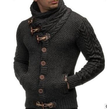 Mens Designer Sweater Cardigan