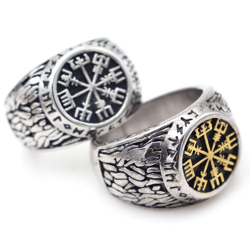 Mens Nordic Viking Rings