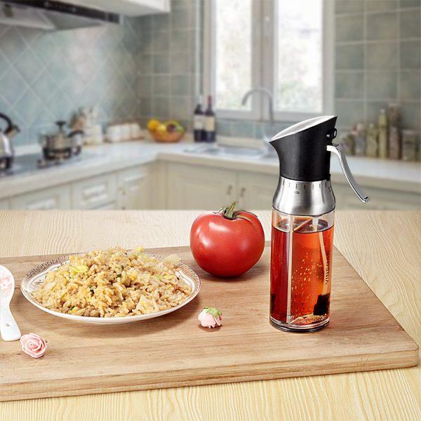 Kitchen Dual Dispenser Oil Bottle