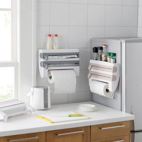 4 In 1 Kitchen Roll Dispenser