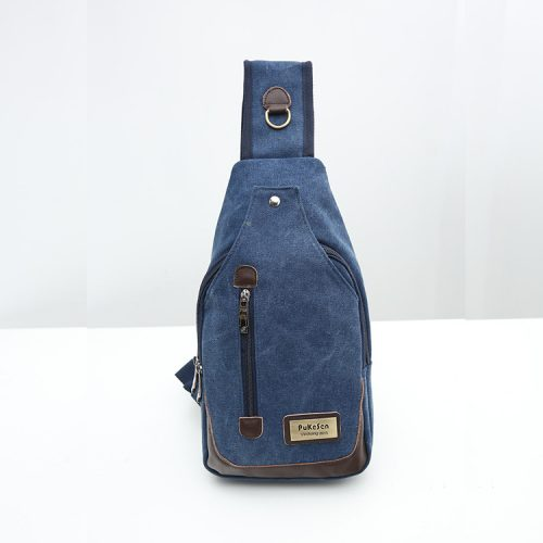 Unisex Multi Pocket Chest Bags