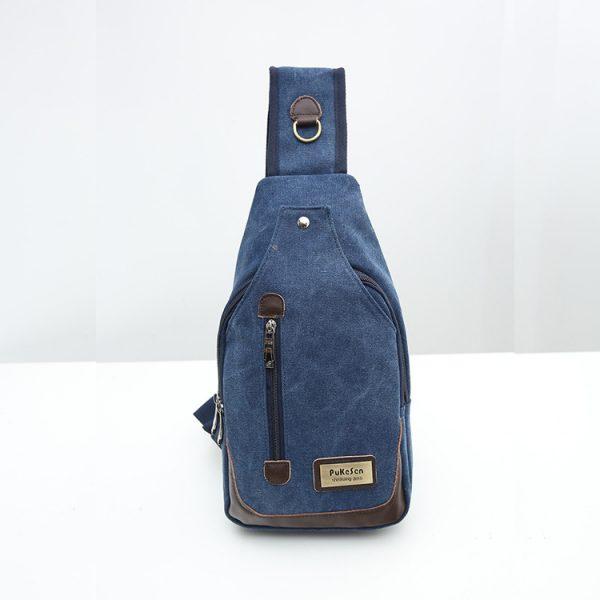 Unisex Multi Pocket Chest Bags