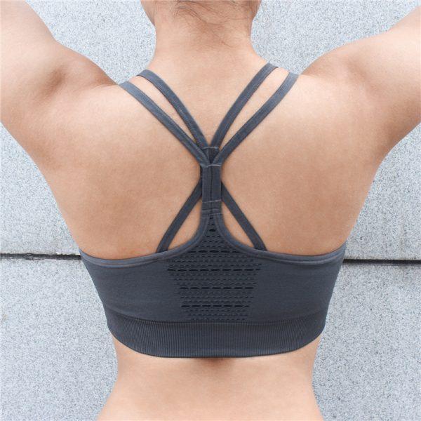 Womens Fitness Sports Top Bra