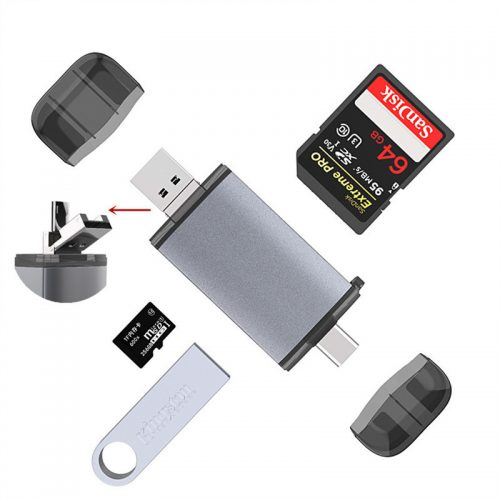 6 in 1 Multi Card Reader