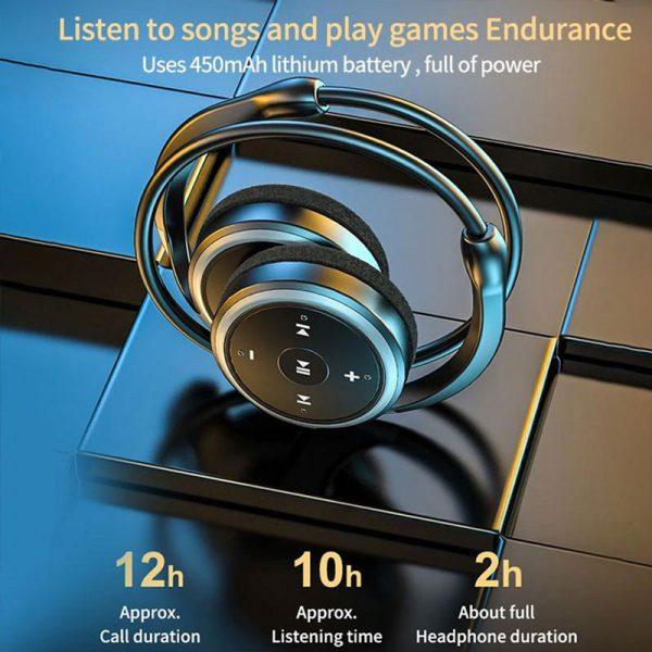 Wireless Sports Headphones SD Card